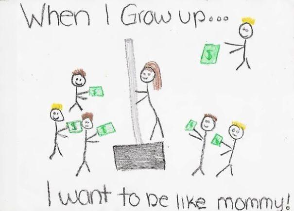 , Çocukların Farkında Olmadan Yaptıkları 13 Uygunsuz Çizim